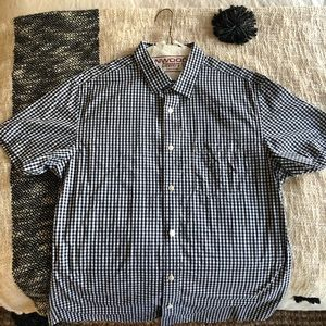 Banana Republic Short Sleeve Button Down Shirt